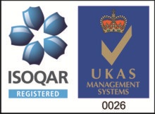 Certificate Number 12596 ISO 9001, ISO 14001, OHSAS 18001