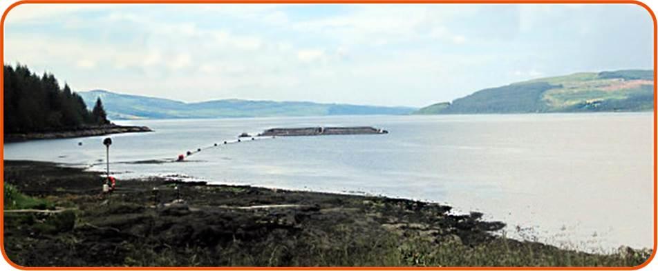 Scottish fish farm. © OSC 2003.