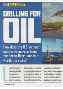 Drilling for oil: How does the US extract natural resources from the ocean floor – and is it worth the risks? (PDF)