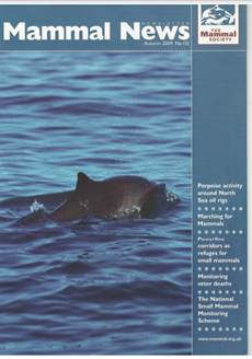 Porpoises and rigs: an unforeseen dependency? (Cover story) (PDF)
