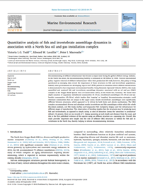 Quantitative analysis of fish and invertebrate assemblage dynamics in association with a North Sea oil and gas installation complex (PDF)